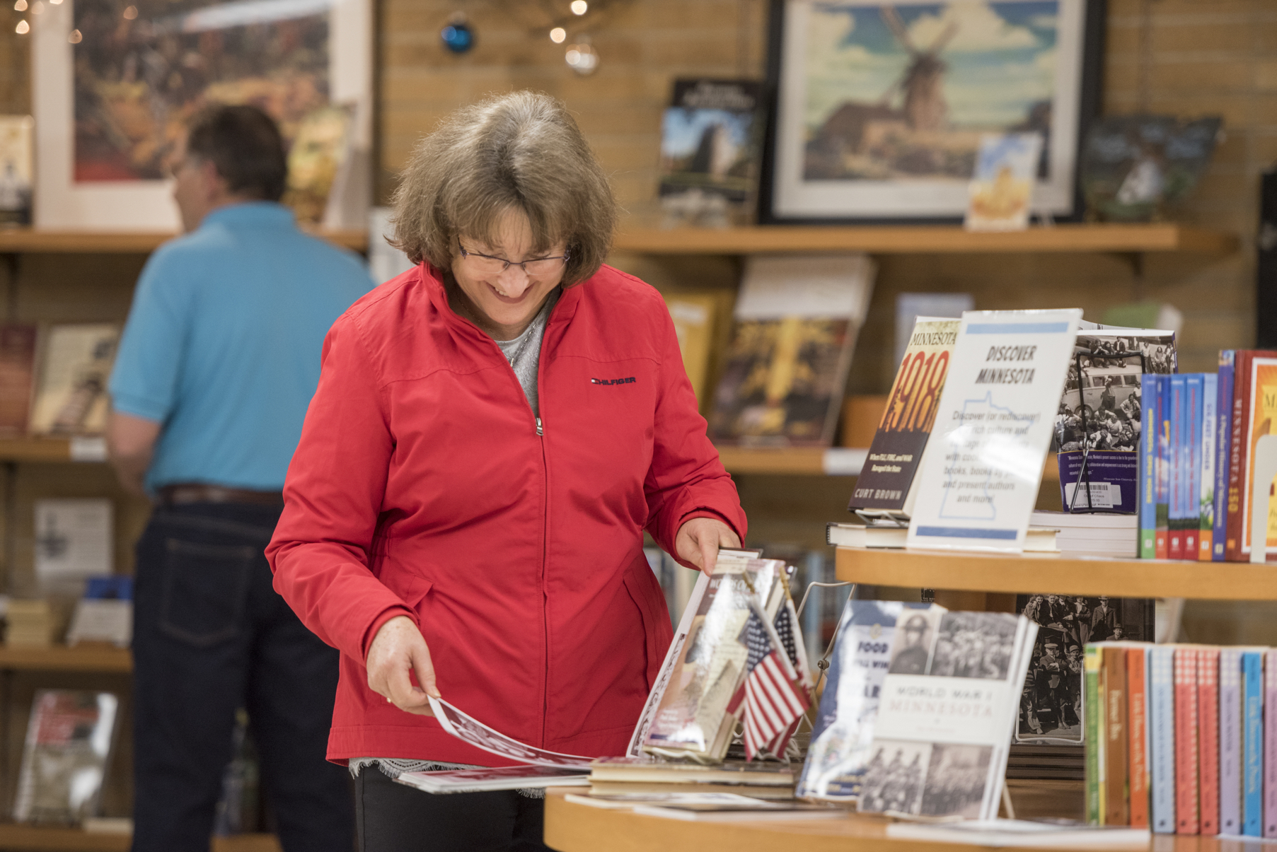 The Gift Shop at the Blue Earth County Historical Society in Mankato, Minnesota