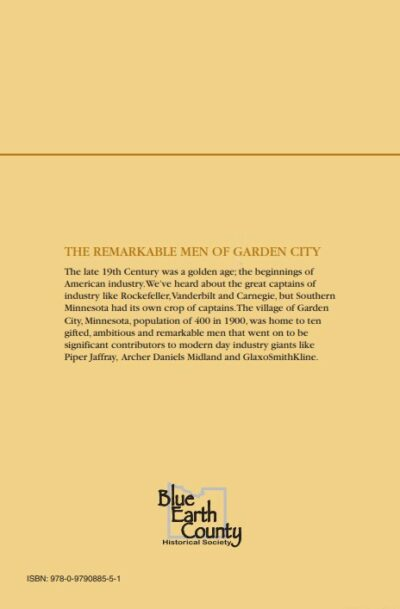 Back cover of The Remarkable Men of Garden City