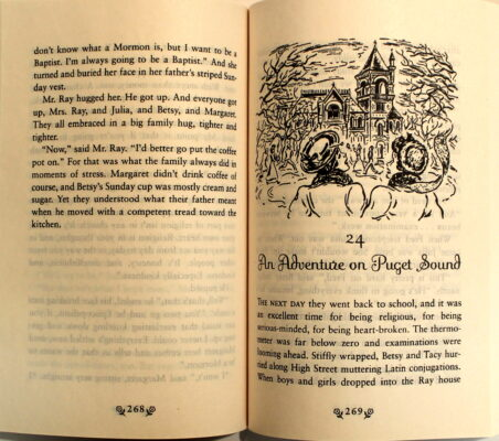 Preview of Heaven to Betsy and Betsy in Spite of Herself, by Maud Hart Lovelace; illustrated by Vera Neville