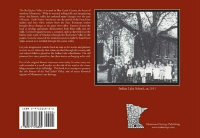 Back cover to The Red Jacket Valley