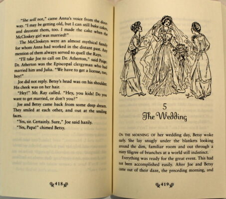 Preview of Betsy and the Great World and Betsy's Wedding, by Maud Hart Lovelace; illustrated by Vera Neville