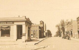 A view of Humphrey Street in Lake Cyrstal, Minnesota