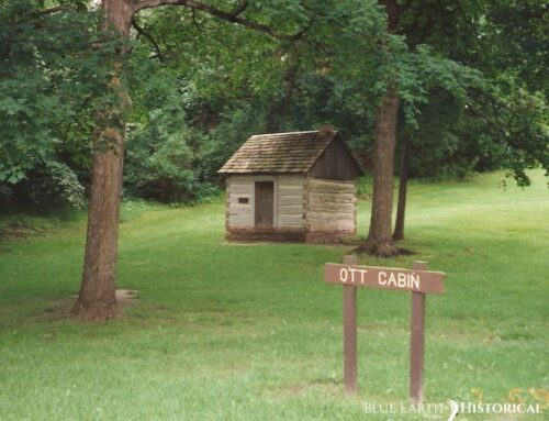 Ott Cabin at Sibley Park