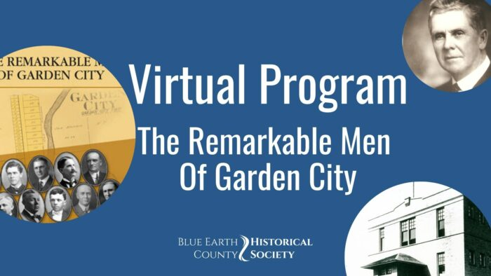 Opening graphic for BECHS video of The Remarkable Men of Garden City