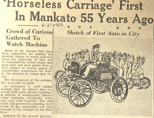 Clarence Saulpaugh and Mankato's First Automobile
