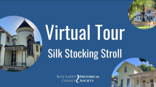 Opening video screenshot of the Silk Stocking Stroll Virtual Walking Tour of the Lincoln Park Neighborhood in Mankato, MN
