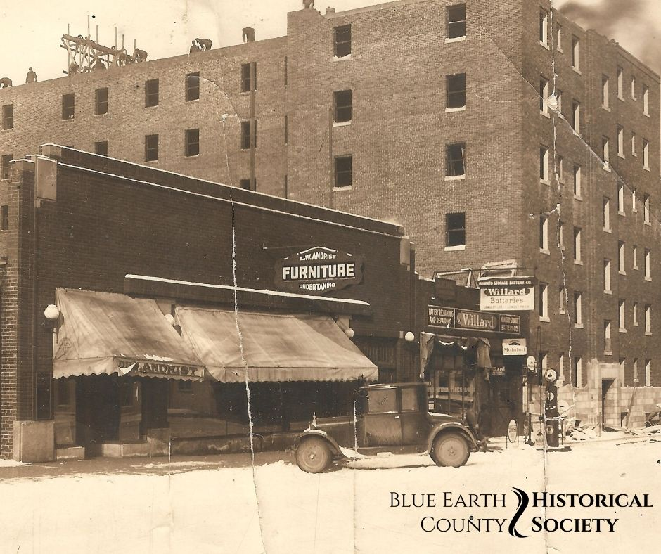 Landkamer Furniture and Undertakign store, 1910s