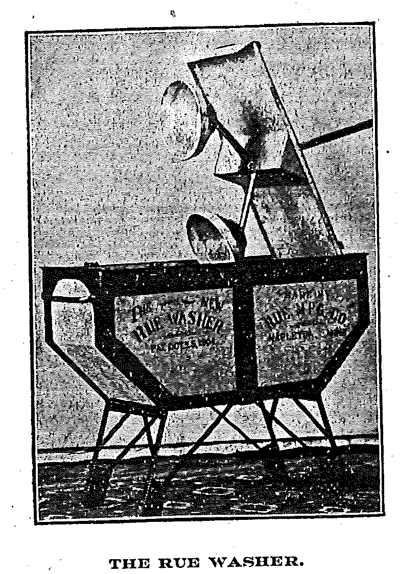 Rue Washing Machine picture from 1905