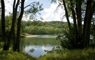 Hiniker Pond, also known as The Pit