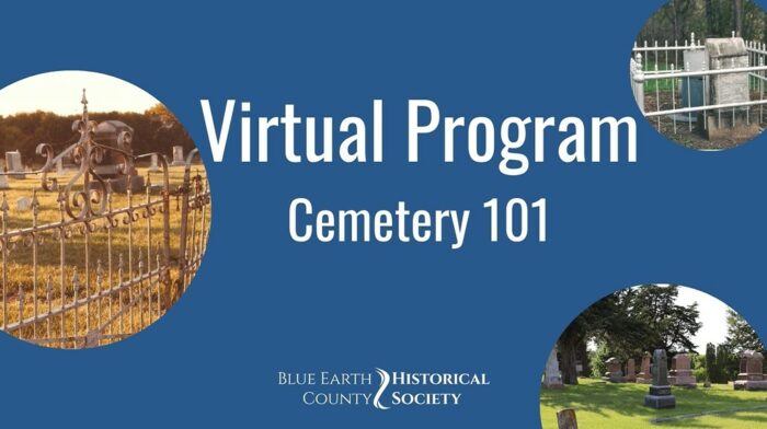Opening image to Cemetery 101 virtual program