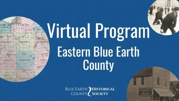 Opening to Virtual tour of Eastern Blue Earth County