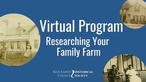 """Opening image for BECHS' program """"Researching Your Family Farm"""""""