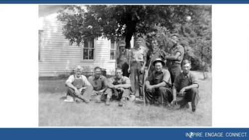 """Historic image included in BECHS' program """"Researching Your Family Farm"""""""