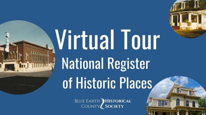 Opening image for the virtual tour of the National Register of Historical Places in Mankato, Minnesota.