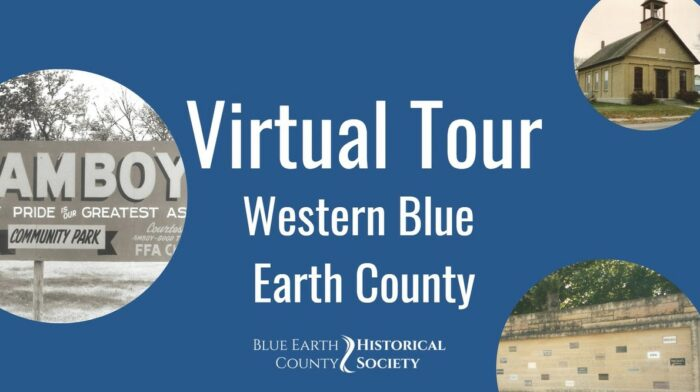 Opening to Virtual tour of Western Blue Earth County