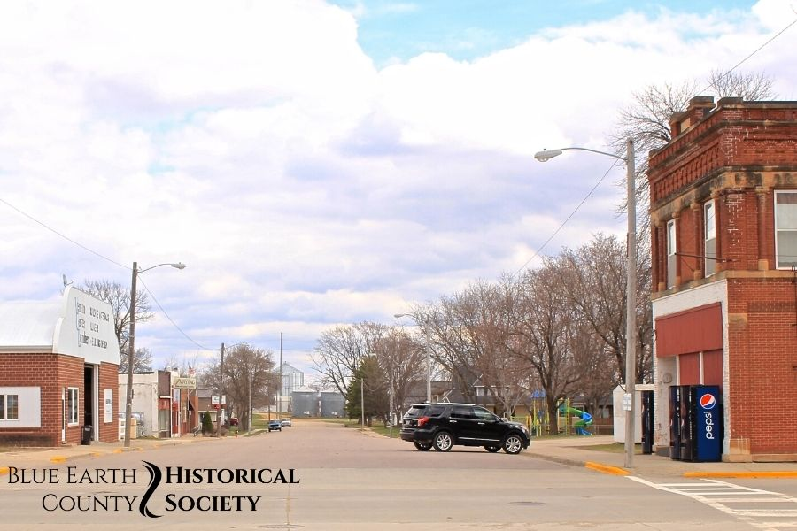 Vernon Center Main Street, Color image c.2017