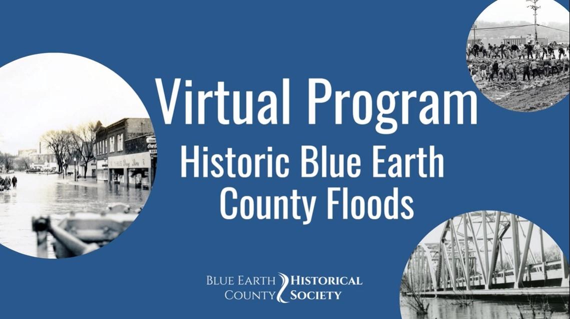 Opening slide to BECHS' presentation on Historic floods.